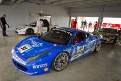 Race winner #31 Ferrari of Ontario 458CS: Damon Ockey