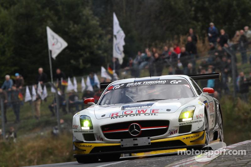 #7 ROWE Racing Mercedes SLS AMG GT3: Maro Engel, Jan Seyffarth, Roland Rehfeld