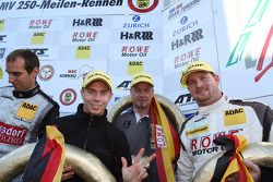 Third place Nico Bastian, Marko Hartung, Mark Bullitt