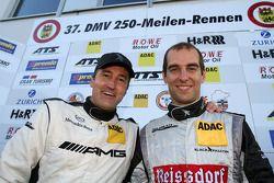 Winners Jeroen Bleekemolen, Bernd Schneider