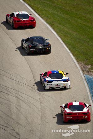 #64 Ferrari of Ft Lauderdale 458CS: Frank Fusillo, #14 Ferrari of San Diego 458CS: Brent Lawrence, #