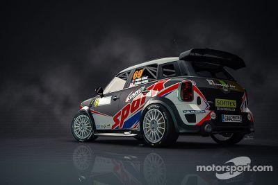Romain Dumas Mini WRC livery unveiling