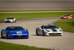 #31 Ferrari of Ontario 458CS: Damon Ockey, #42 Ferrari of Houston 458TP: Richard Fant