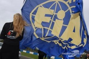 FIA flag.