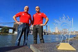 GT kampioenen Emil Assentato en Jeff Segal