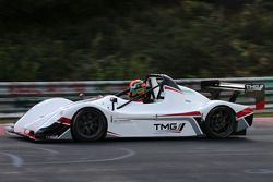 Jochen Krumbach drivers the TMG EV P002 to a new electric vehicle record