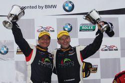 Winnaars Jayson Clunie en Pierre Kleinubing