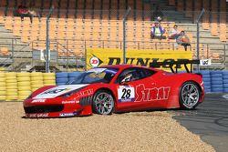Spin #28 Sport Garage Ferrari 458 Italia: Alban Dunod; Arno Santamato