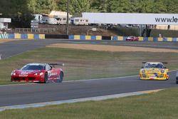 Spin #20 Sofrev ASP Ferrari 458 Italia: Jean-Luc Beaubelique; Ludovic Badey
