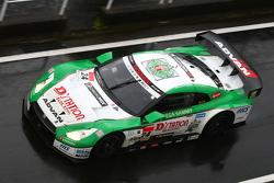 #24 D'station Nissan GT-R: Bjorn Wirdheim, Hironobu Yasuda