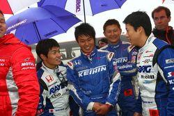 Takuya Izawa, Naoki Yamamoto, Toshihiro Kaneishi, Koudai Tsukakoshi