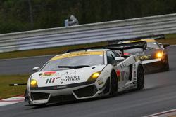 #88 JLOC Lamborghini Gallardo LP600+ GT3: Manabu Orido, Takayuki Aoki
