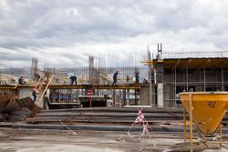 Constructie Sochi F1 circuit, paddock