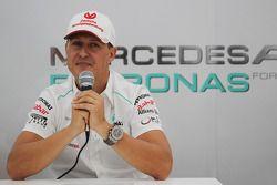 Michael Schumacher verkündet seinen Rücktritt