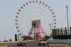 Mark Webber, Red Bull Racing y Sergio Pérez, Sauber
