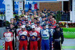 WRC fotoshoot