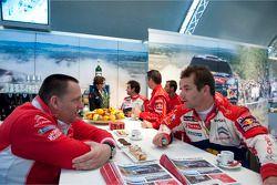Yves Matton en Sébastien Loeb, Citroën Total World Rally Team