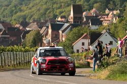 Daniel Sordo y Carlos del Barrio, Mini John Cooper Works WRC, Prodrive MINI WRC TEAM