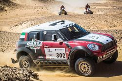 #302 MINI All4: Khalifa Al-Mutaiwei en Andreas Schulz