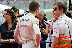 Paul di Resta, Sahara Force India F1 ve Will Hings, Sahara Force India F1 Basın Sorumlusu ve media