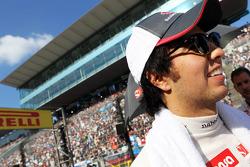 Sergio Pérez, Sauber en la parrilla