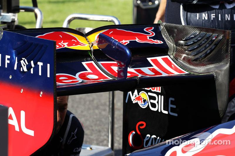 Red Bull Racing rear wing detail