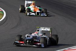Sergio Pérez, Sauber y Nico Hulkenberg, Sahara Force India F1