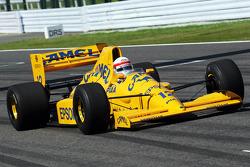 Satoru Nakajima, in his Lotus 101