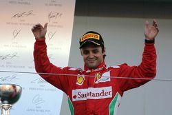 Tweede plaats Felipe Massa, Scuderia Ferrari