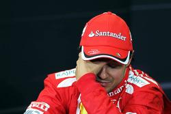Felipe Massa, Ferrari in the FIA Press Conference