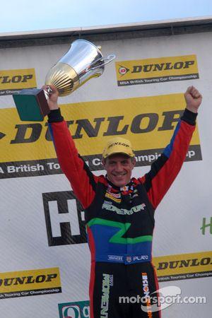 Round 27 Race Winner Jason Plato