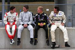 Kyle Marcelli, Sean Johnston, Spencer Pigot, Cooper MacNeil