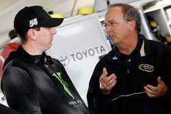 Kyle Busch and Brett Bodine