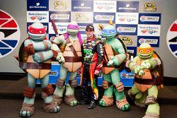 Teenage Mutant Ninja Turtles met Jeff Gordon