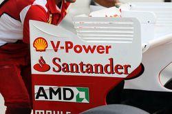 Ferrari aileron arrière