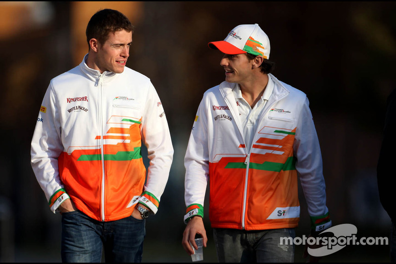 Paul di Resta, Sahara Force India Formula 1 Team ve Jules Bianchi, Sahara Force India Formula 1 Team