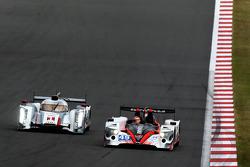#1 Audi Sport Team Joest R18 e-tron quattro: Marcel Fässler, Benoit Tréluyer, Andre Lotterer, #49 Pe