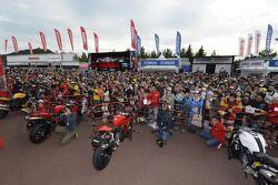 Ducati display area