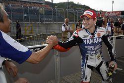 Pole winner Jorge Lorenzo, Yamaha Factory Racing