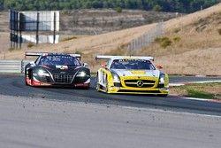 #19 Black Falcon Mercedes-Benz SLS AMG GT3: Steve Jans, Oliver Morley, Sean Edwards