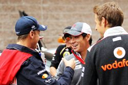 Sebastian Vettel, Red Bull Racing ve Kamui Kobayashi, Sauber ve Jenson Button, McLaren