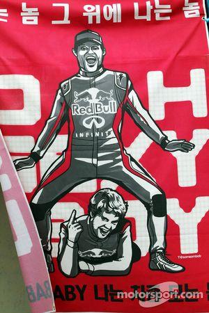 Banner for Mark Webber, Red Bull Racing and Sebastian Vettel, Red Bull Racing