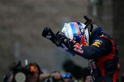 Le vainqueur Sebastian Vettel, Red Bull Racing