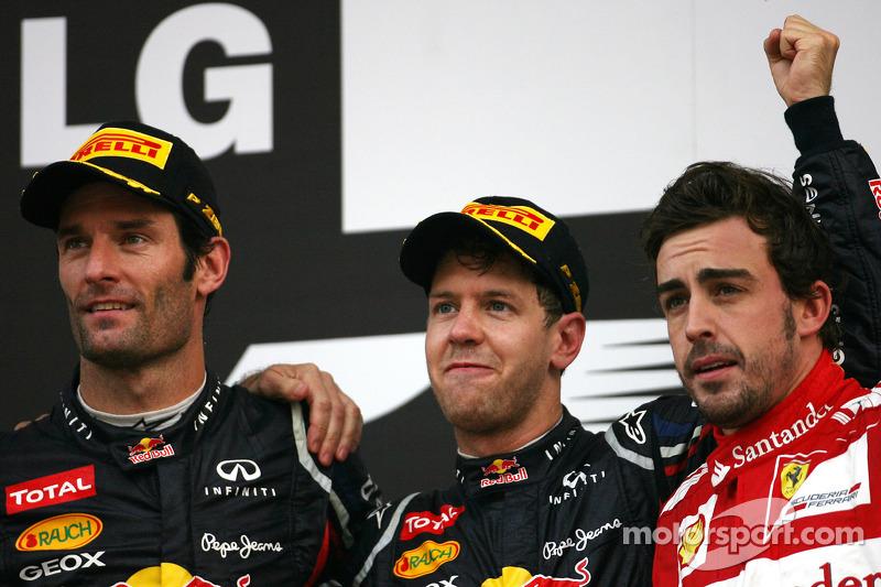 84- Fernando Alonso, 3º en el GP de Corea 2012 con Ferrari