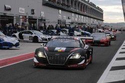 #1 Belgian Audi Club Team WRT Audi R8 LMS Ultra: Christopher Haase, Christopher Mies, Stéphane Ortel