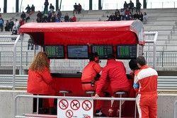 Kessel Racing pitlane