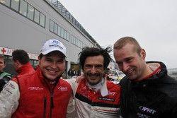 2012 kampioenen Christopher Haase, Christopher Mies, Stéphane Ortelli