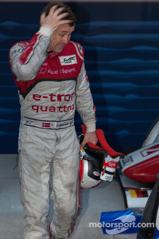 Tom Kristensen after the race