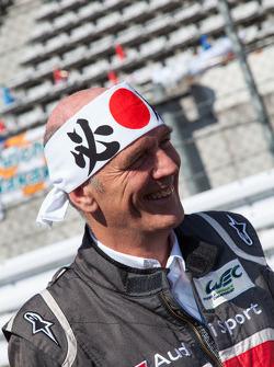 Wolfgang Ulrich enjoying Japan