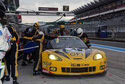 #70 Larbre Competition Chevrolet Corvette C6-ZR1: Christophe Bourret, Pascal Gibon, Jean-Philippe Be
